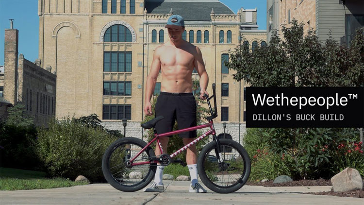 Wethepeople BMX Dillon Lloyd 2020 Bike Build Video