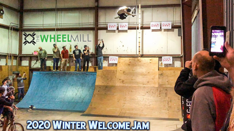 Winter Welcome Jam 2020 BMX video