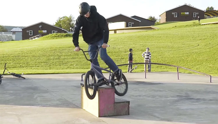 Woodward East Lessons Sessions BMX video