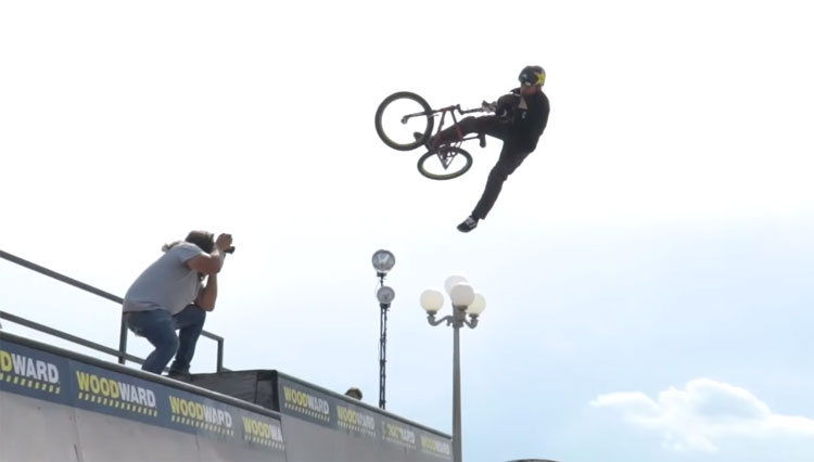 Woodward VIP Ryan Nyquist BMX