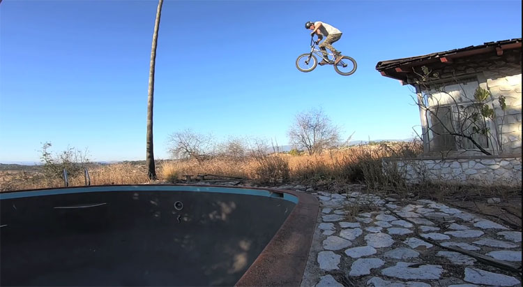 Wook Pools BMX video