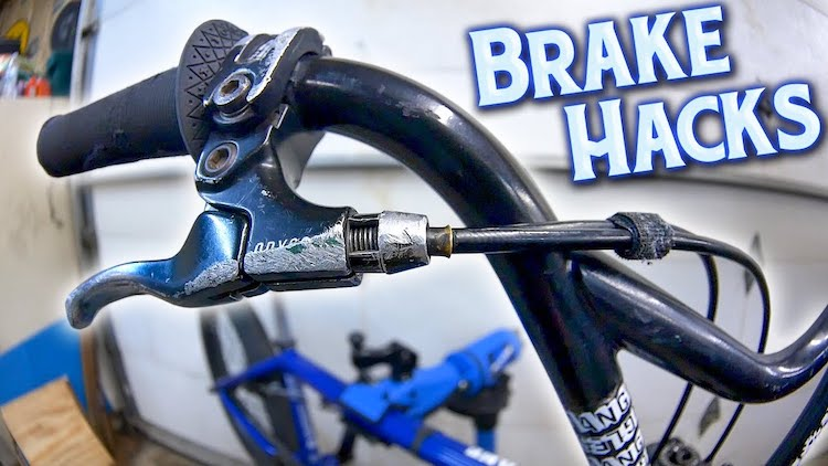 BMX Brake Hacks Tips Tricks Brant Moore