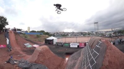 Caracas Trails BMX Contest Practice Day 2