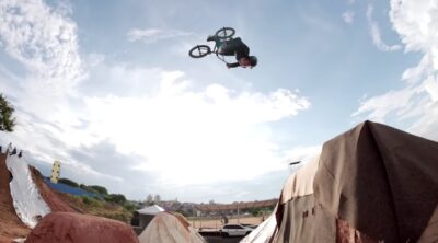 Caracas Trails BMX contest practice video 2020