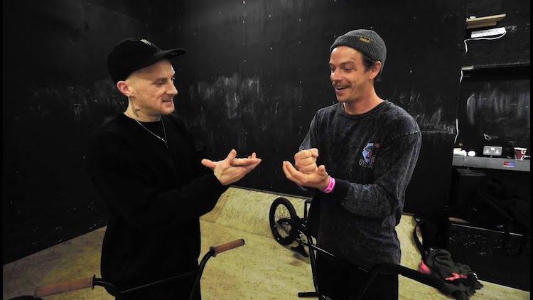 Dan Lacey VS Nathan Williams Game of BIKE Source BMX