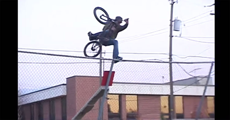 Fit Bike Co Mike Aitken Fitlife Section BMX Video