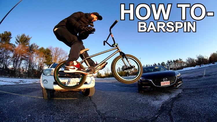 How To Barspin BMX bike
