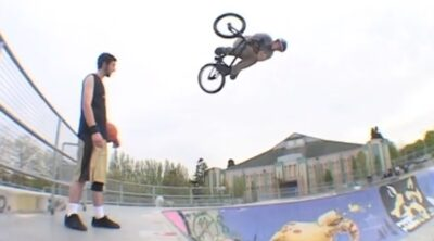 John Heaton Macneil BMX video