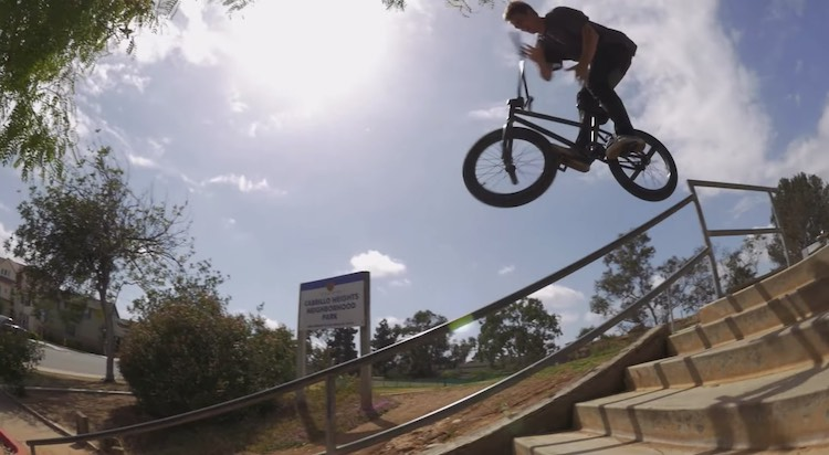 Kink BMX Cold Cuts Travis Hughes BMX video