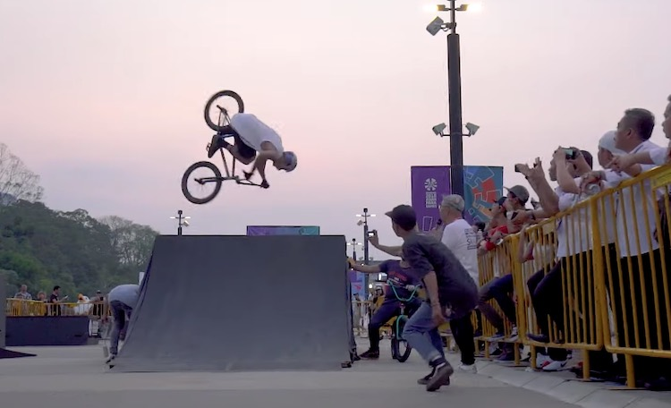 Kriss Kyle Indonesia BMX video