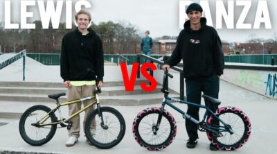 Lewis Colascione Anthony Panza Game of BIKE BMX