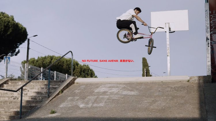 MarieJade Alex Kennedy No Future BMX video