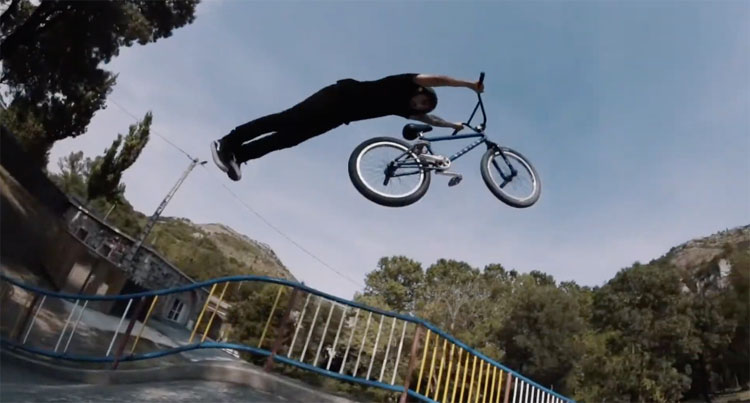 MarieJade No Future OG Crew BMX video
