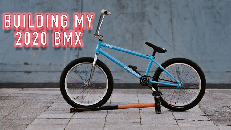 Mark Webb Total BMX 2020 Bike Build