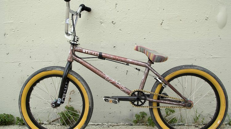Mason Ritter Video Bike Check BMX