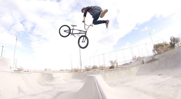 Monster Army Brendan Powell BMX
