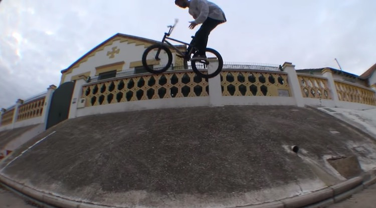Quique Rico No Work No Live BMX video