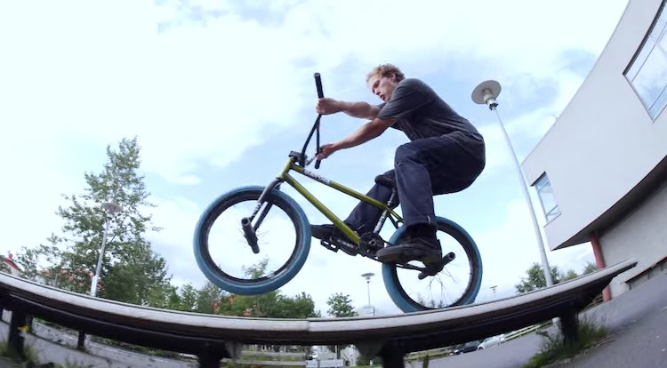 Shadow Conspiracy Lewis Colascione Iceland Vacation BMX video