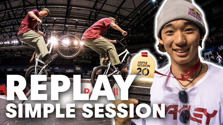 Simple Session 20 Live Replay BMX video