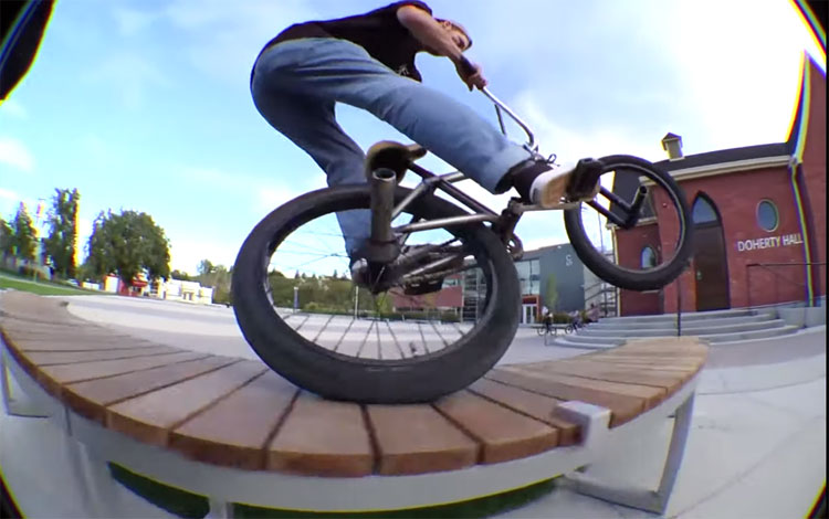 S&M Bikes Holy Divers BMX video