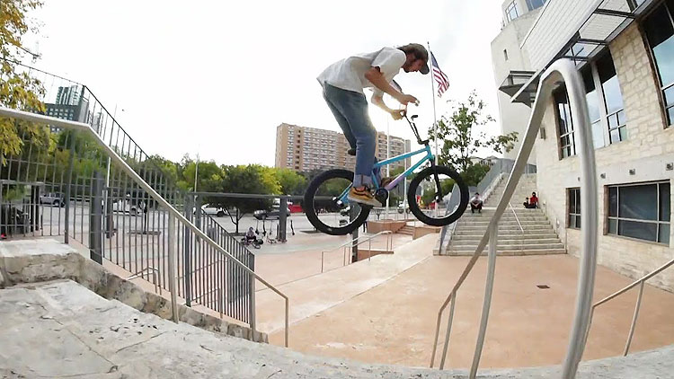 Sunday Bikes Ben Allen All Out BMX video