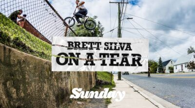 Sunday Bikes Brett Silva on a Tear BMX video
