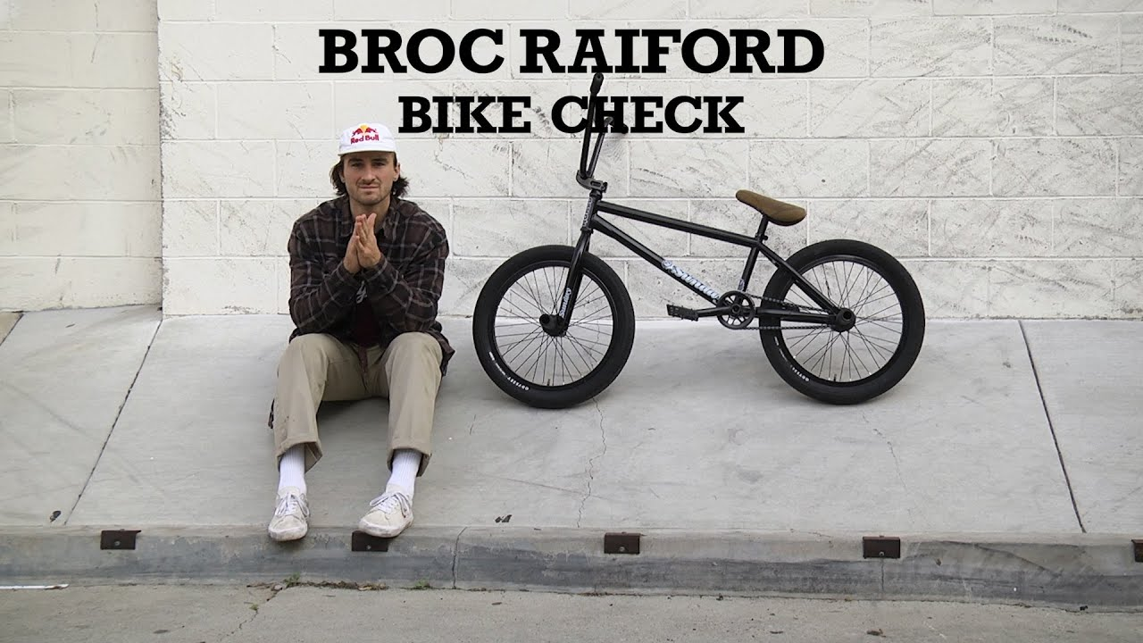 Sunday Bikes Broc Raiford BMX Bike Check