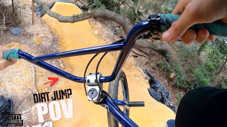 Trey Jones Dirt Jumps POV BMX video