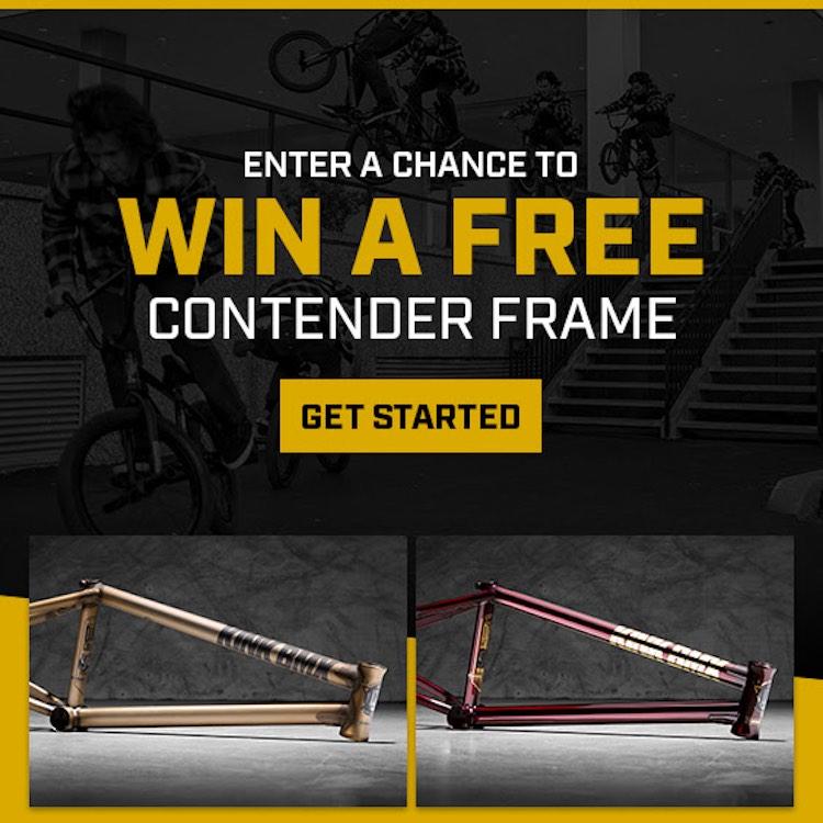 Win A Kink Contender Frame BMX