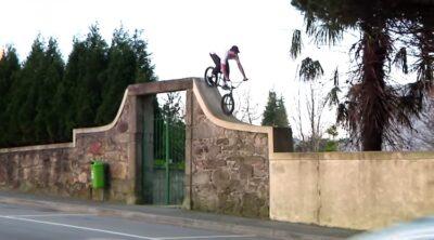 Adrian Kolz BMX video Portugal