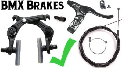 BMX Brakes Everything You Need Straight Cable Setup
