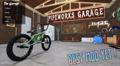 BMX Streets Pipe Garage Mod