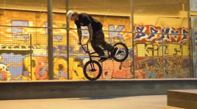 Broke Off In Barcelona BMX vieo