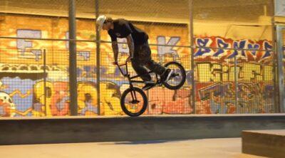 Broke Off In Barcelona BMX vieo