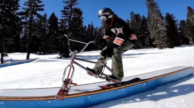 Drifter Snow Bikes All Work No Play Tour BMX video
