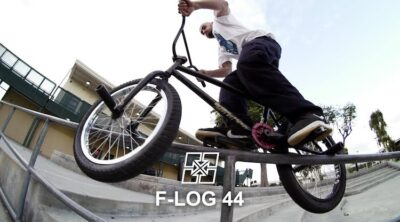 Fit Bike Co F-Log Biking with Hoder BMX video