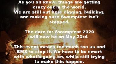 Florideah Swampfest 2020 Postponed