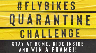 Flybikes Quarantine Challenge BMX