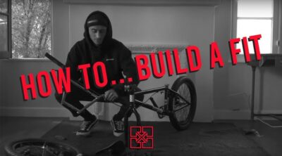 How To Build Fit Complete BMX Bike At Home