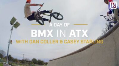 Kink BMX Day of BMX In ATX