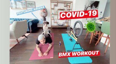 Matthias Dandois BMX Workout