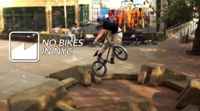 Merritt BMX No Bikes In NYC video