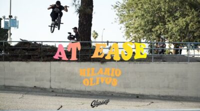 Odyssey BMX Hilario Olivos At Ease BMX video