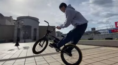 Ryota Miyaji Pegless BMX video