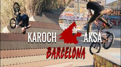 Stress BMX Sashka Aksen Tema Karoch BMX video