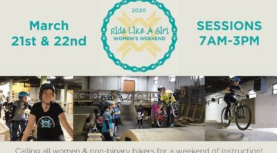 The Wheel Mill Ride Like A Girl 2020 Flyer BMX