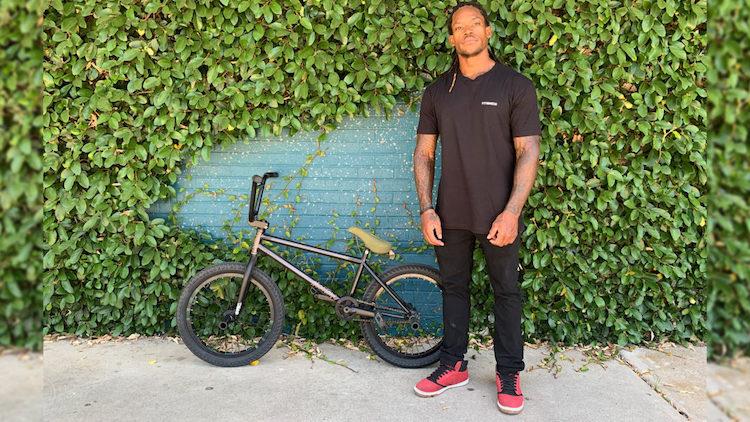 Brad Simms On Fit Bike Co. BMX