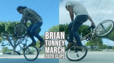 Brian Tunney March 2020 Clips BMX video