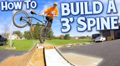 How to Build a 3 foot spine BMX
