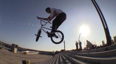 Kai Schulte Barcelona BMX video
